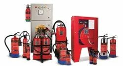 Carbon Steel A B C Dry Powder Type Secure Zone Fire Extinguishers, For Industrial, Capacity: 4Kg