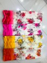 Ligalz presents printed Georgette saree with blouse