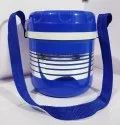 Prince Blue 3 Container Plastic Insulated Lunch Box, Capacity: 900 Ml