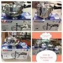 Single Stainless Steel Pressure Cooker, For Home, Capacity: 5ltrs