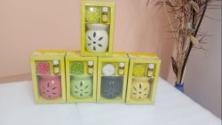 Ceramic Candle Diffuser Gift Set