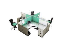 4 Seater Panta Workstation 45 Mm Thickness