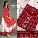 Ladies Kurti With Skirt