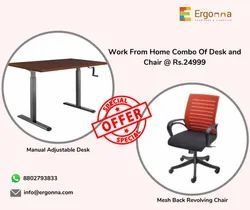 Sit Stand Desk With Chair