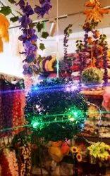 Green Artificial Grass Ball, For Decorative Purpose