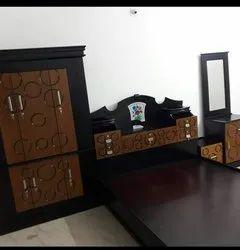 Mdf Bedroom Set, Size: Queen