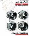 Transair  Stainless steel pipe repair STRAUB coupling