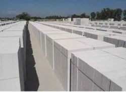 Solid Autoclaved Aerated Concrete Birla Aerocon Aac Blocks, For Partition Walls, Size: 600 X 200 X 125 Mm