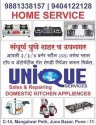 Domestic Kitchen Appliances Repairing Service