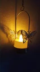 Metal Butterfly T Light Holder