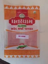 White Chilly Powder 50grm Pouch