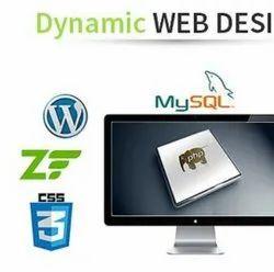 Cloud Dynamic Website Development Service