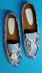Casual Fabricated women designer footwear loafers