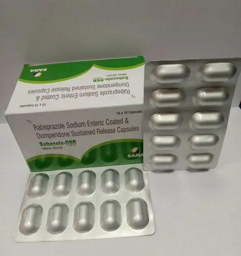 Rabprazole domperidone sustain release capsule