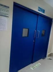PCGI Double Equal Swing Door, For Hospital, Size/Dimension: 1500x2100MM