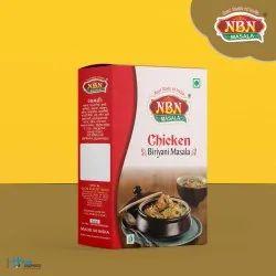 Chicken biryani masala, Packaging Type: Box