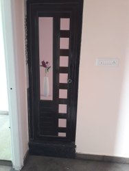 Casement Glossy Decorative Pvc Door, For Bathroom, Interior