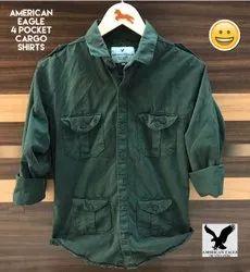 Plain Denims & Trousers American Eagle Shirt