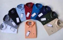 Collar Neck Linen Wud N Burg Plain Lenin Shirt