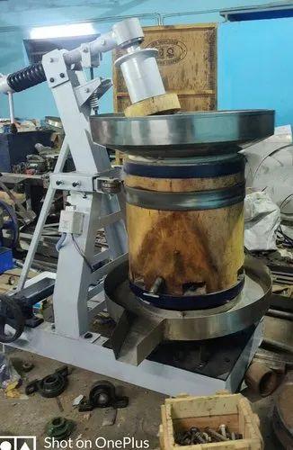 Semi Automatic Marachekku Oil Machine