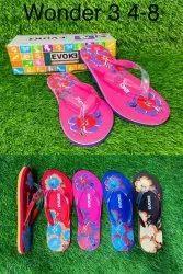 Rubber Flats & Sandals Women Wonder Footwear, Size: 4*8