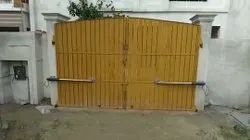 Swing And Sliding Stainless Steel Automatic Gate System, For Residential