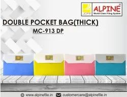 Double Pocket My Clear Bag ( Thick)