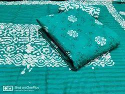 Unstitch Cotton Embroidery Suit, Handwash