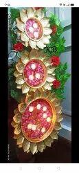 For Decoration Golden Decorative Urli Set