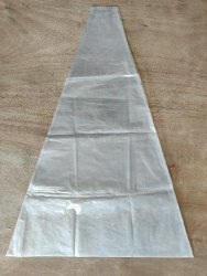 LDPE Transparent triangular packing bags for Pharmaceutical, Capacity: 5 Kg