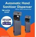 Automatic hand sanitiser dispenser  Kiosk