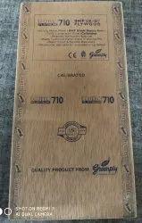 Eucalyptus Brown Green Ecotec Platinum 710 Marine Plywood, Grade: First Class, Size: 8 X 4