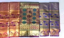 Festive Wear Pattu Silk Saree, 6.3 m (with blouse piece)