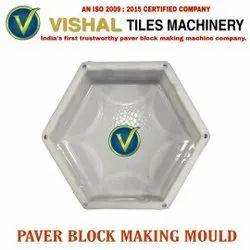 Hexagon Plastic Paver Block Making Mould