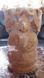Wooden Decorative Buddha