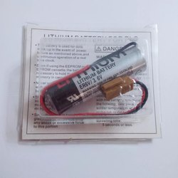 Toshiba Lithium Battery ER6V/3.6V 2000mAh with Brown & Black Plug