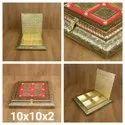 Wooden Rajwadi dry fruit box