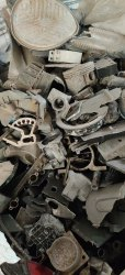 Loose Silver Aluminium Casting Scrap, For Automobile Industry, Size: Medium