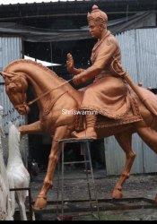 Mahatma Basaveshwar Maharaj Statue