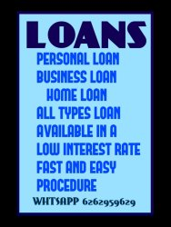 PERSONAL LOAN LOW INTEREST AVAILABLE