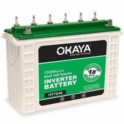 Okaya 150 Ah Tall tubular battery