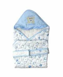 Blue Cotton Baby Sleeping Bag, 0 to 2 year
