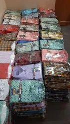 Printed 100% Cotton Wholesale Formal shirts, Size: 38- 44