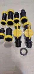 32mm & 40mm PP Rain Pipe Fitting, For LD RAINPIPE, Coupler