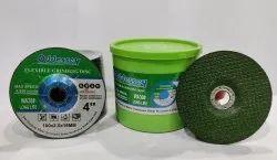WA Flexible Grinding Disc Green 4 (Oddessey)