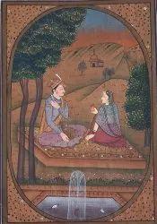 Baramasa paper painting