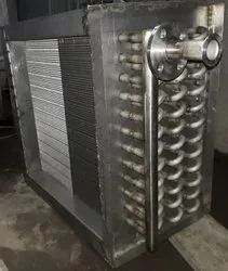 FIDVI Stainless Steel Air Cooling Coil, For Hydraulic And Industrial Process