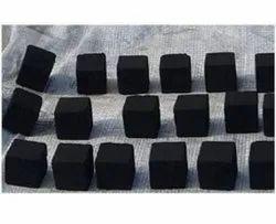 Black Square Charcoal Briquettes, Packaging Size: Sack Bag