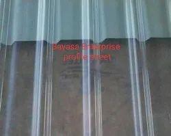 AC Profile Polycarbonate Sheets 1.2 mm