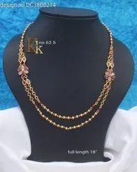 Earring Golden Kk Imitation Jewellery